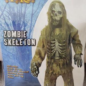Zombie Skeleton kids costume